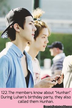 EXO Facts | XiuHan's shippers just want to watch us burn. HunHan Rules. Yet.