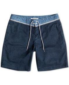 Quiksilver Men's Street Trunk Shorts - Blue 34
