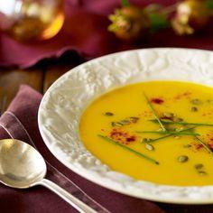 Butternut Squash Soup Ina Garten ina garten's best-ever thanksgiving menu | winter squash soup
