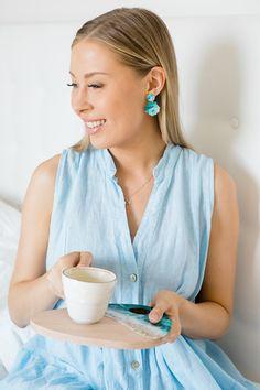 3 x ihanat kesäkorvikset   pinjasblog Drop Earrings, Blog, Fashion, Moda, Fashion Styles, Drop Earring, Blogging, Fashion Illustrations