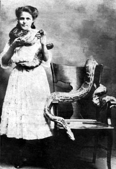 the lady and the snakes