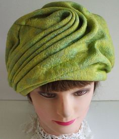 vintage turban hat from the 60s by Vronihats on Etsy cb56bc1e59