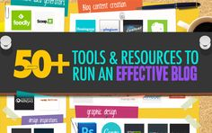 50+ Blogging Tools To Make Your Blog Awesome