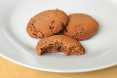 Palavras que enchem a barriga: Bolachas de Nutella paleo (sem açúcar) para um dia feliz! :)