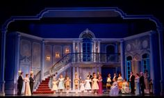 Michael Yeargen's  set design for 'The Sound of Music' at Lyric Opera Chicago 2014 (Todd Rosenberg)