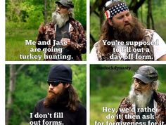 Jase, Si and poor Willie