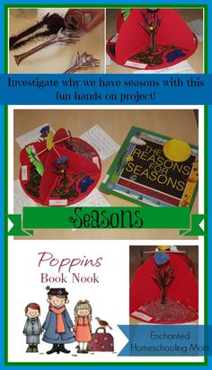 Poppins Book Nook The Reasons for Seasons Storybook Fun