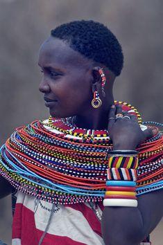 Sambura tribeswoman