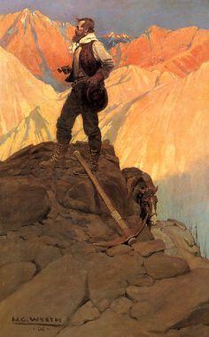 N.C. Wyeth, The Prospector