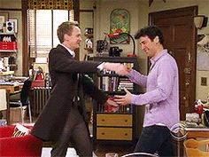 HIMYM, Barney & Ted
