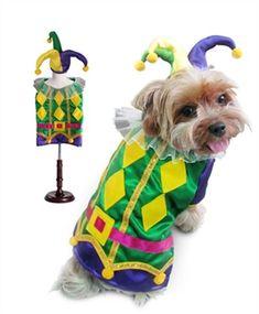 Harlequin Mardi Gras Dog Costume-Bloomingtails Dog Boutique Pet Halloween  Costumes 11f4f46f1312
