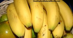 7 Health Issues That Bananas Can Solve