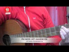 In10lessen gitaarles online gitaar leren spelen Het E akkoord E mineur akkoord en E7 akkoord