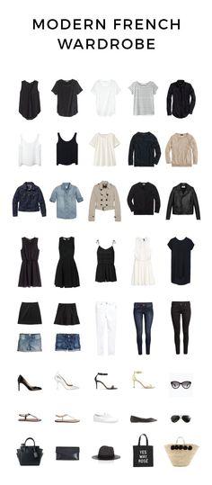 Modern French Wardrobe for Spring and Summer | http://modernfrenchblog.com