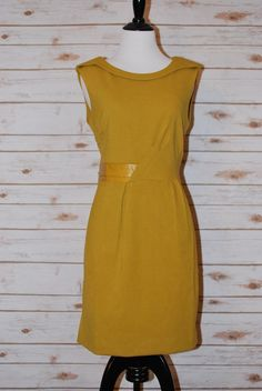 This Dress Cuts the Mustard