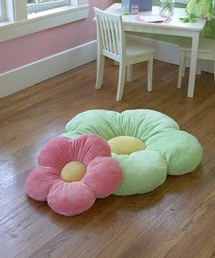 Take a look at this Pink Daisy Pillow on zulily today!