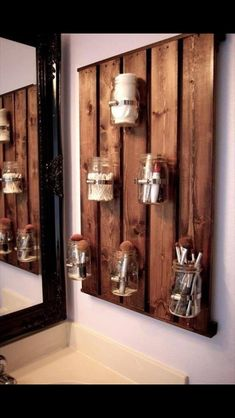 Bathroom organization idea
