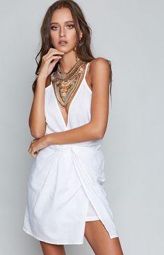 Paloma Dress White