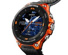 Casio adds low-power GPS to its next Android-powered Pro Trek.