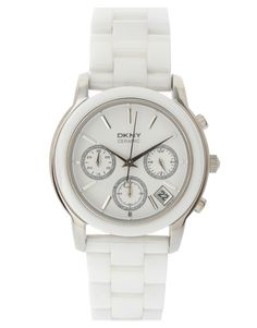 "DNKY Ceramic Watch. A white watch is next on the ""to buy"" list"