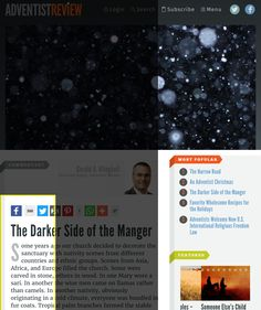 Adventist Review Online | The Darker Side of the Manger