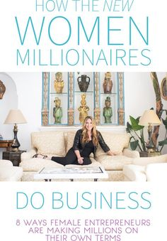 8 Ways Female Entrepreneurs Are Making Millions on Their Own Terms… talk entrepreneur tips - career advice - small business - business tips - business strategy Business Advice, Business Entrepreneur, Business Planning, Business Marketing, Business Women, Online Business, Business Ideas For Women Startups, Buisness Ideas For Women, Entrepreneur Stories