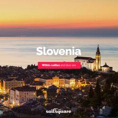 #Slovenia #sailing  www.sailsquare.com