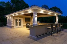 "Acquire excellent pointers on ""outdoor kitchen designs layout patio"". They are available for you on our internet site. Outdoor Kitchen Kits, Outdoor Kitchen Cabinets, Backyard Kitchen, Outdoor Kitchen Design, Outdoor Kitchens, Pool House Designs, Backyard Patio Designs, Patio Oasis Ideas, Backyard Ideas"