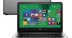 O notebook HP 14 (AC121BR) é um modelo de notebook mais caro que compensa comprar, ele tem processador Core i7 (6º Geração), memória RAM de 8 GB, tela de 14 polegadas com resolução em HD e 1 TB de armazenamento de dados.