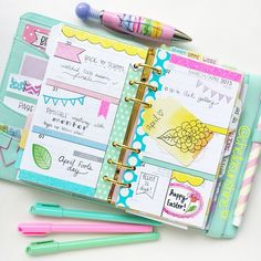 Try to get my planner to look like this, instead of something that looks like a five year did...