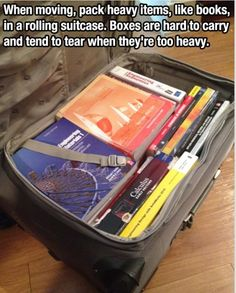 I did this by coincidence once and it's soooo much easier. Now I have too many books though lol