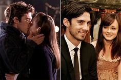 Fans loved the dramatic relationship between Rory and Jess on Gilmore Girls, and apparently there was something real about that onscreen chemistry — Alexis Bledel and Milo Ventimiglia dated for four years between 2002 and 2006.