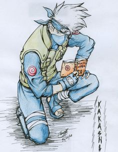Resultado de imagen para kakashi dibujo  Dibujo  Pinterest