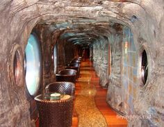 The Enchanted Forest is a theme park like passageway on the Carnival Legend for seaside viewing while enjoying a snack