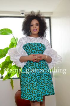 Dolly Faux Wrap African Print DressIN GREEN image 2 Source by fashion dresses African Dresses For Kids, African Fashion Ankara, Latest African Fashion Dresses, African Dresses For Women, African Print Dresses, African Print Fashion, African Attire, Ankara Short Gown Styles, African Traditional Dresses