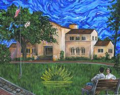 Rollins painting by Rollins College, via Flickr