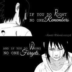 animequotes / sadanimequotes / sasuke uchiha / animeboy / sad quotes/ lifequotes