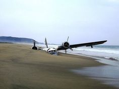 The abandoned plane in the sand, ventanilla Playa, Mexico: A mysterious plane buried in more than a meter of sand on west shore of Mexican coast. Many different stories exist about the presence of the plane in that place, some say the plane was used by narco-trafficker and shot by the Mexican army, others say they had to make a emergency landing, others that there was no drug involved in this story at all. Whatever the story is, the place looks beautifully enhanced by this immobile bird