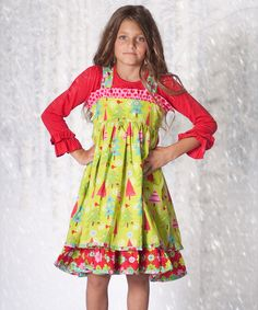 Save Now on this Oh Christmas Tree Holiday Dress & Top - Infant, Toddler & Girls by Jelly the Pug on #zulily today!