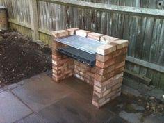 building a brick bbq brick- bbq