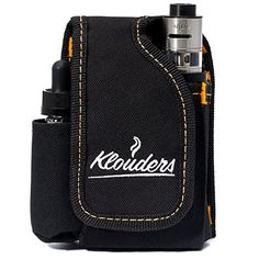Vape Case Accessories Vapor Pouch for Travel Carrying Bag Holder to Carry Your Vape Box Mods Full Kit with Tank Vaping Supplies Holster Organizer for e Juice Battery Black Klouders [CASE ONLY] Vape Accessories, Claire's Accessories, Bridesmaid Accessories, Vape Box, Vaping Devices, Side Bags, Organizer, Leather Case, Pouch