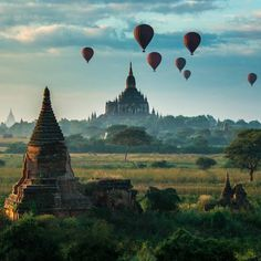 Temples of Bagan, Myanmar ___ Bagan, Beautiful World, Beautiful Places, Amazing Places, Places Around The World, Around The Worlds, Best Landscape Photographers, Sara Underwood, Plitvice Lakes National Park