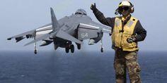 Jet Sea Harrier Milik AS Jatuh di Jepang, Pilot Selamat - Kompas.com