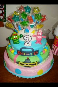 This was my first cake