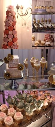 Connie Cupcake Display at the WedLuxe Show