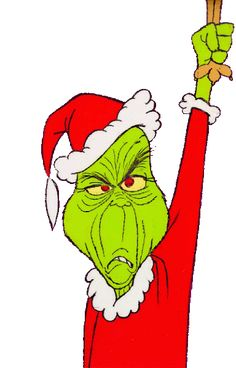Free Grinch Resizable Clip Art