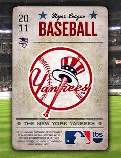 Baseball Playoffs - Spec. by Charles Ross , via Behance