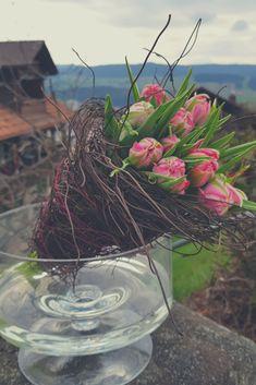 Flower Art, Glass Vase, Table Decorations, Plants, Vintage, Home Decor, Bouquets, Trends, Flowers