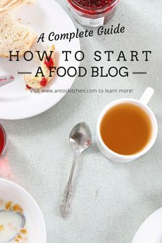 A detailed guide on how to start a food blog. With step by step instructions including screenshots and pro tips to start and grow a blog into a profitable business