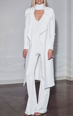 Wide Lapel Vest by CUSHNIE ET OCHS Now Available on Moda Operandi